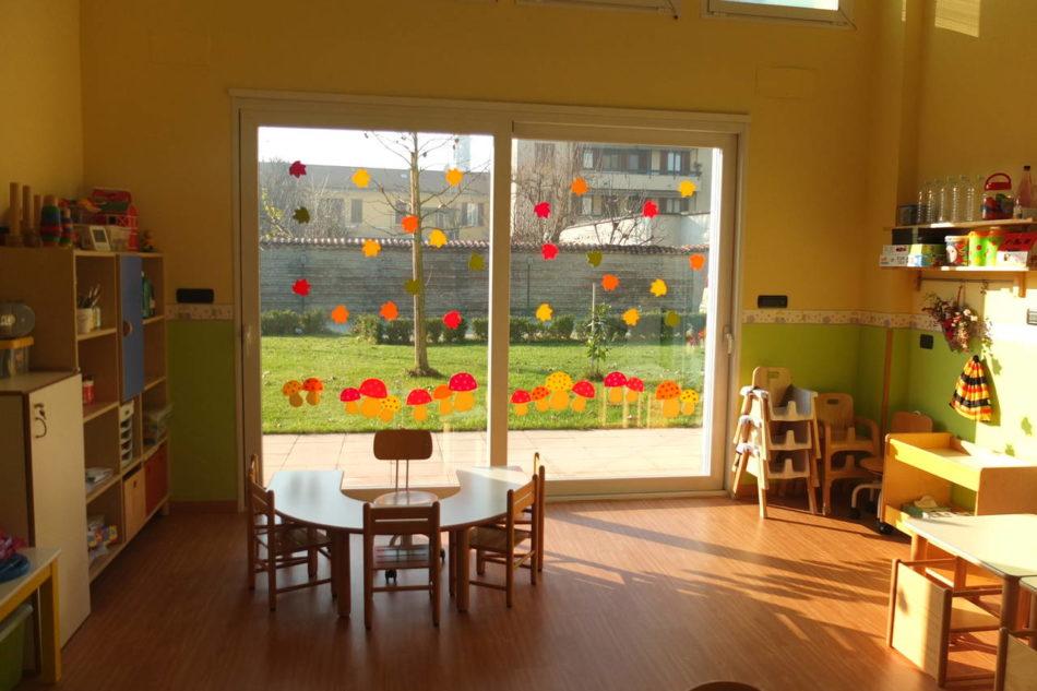 Mactac all 39 asilo nido la decorazione che stimola i sensi for Addobbi finestre autunno scuola infanzia