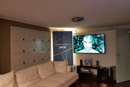 Il nuovo showroom NEC alla Fashion Library di Milano