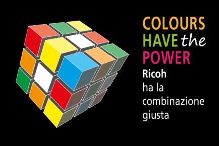Al via Colours have the power di Ricoh