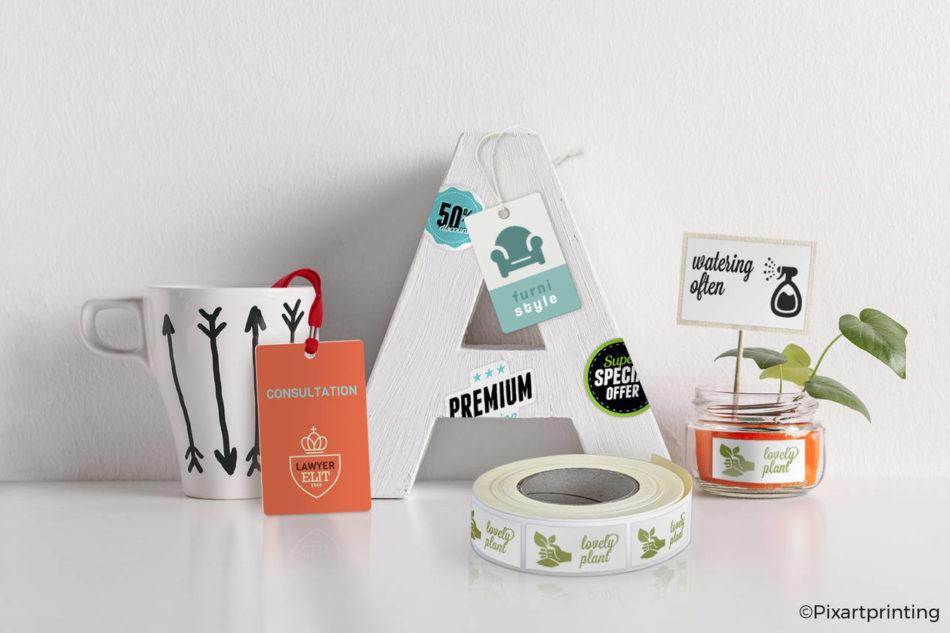 Pixartprinting: etichette e sticker di alta qualità arricchiscono l'offerta