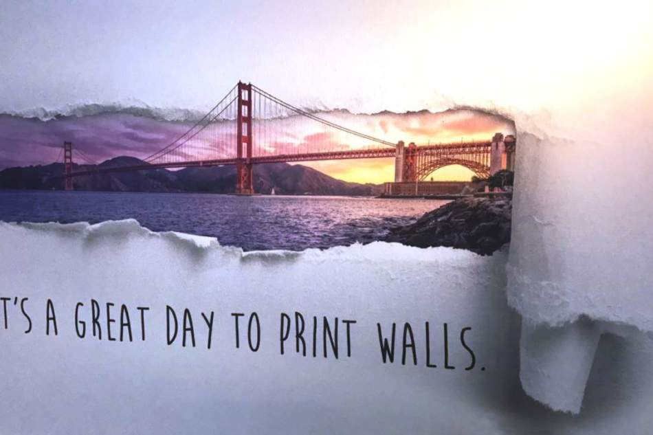 La nuova stampante Wallpen utilizza la tecnologia Xaar