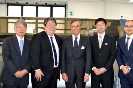 Inaugurata ufficialmente la sede di Mimaki Bompan Textile Srl