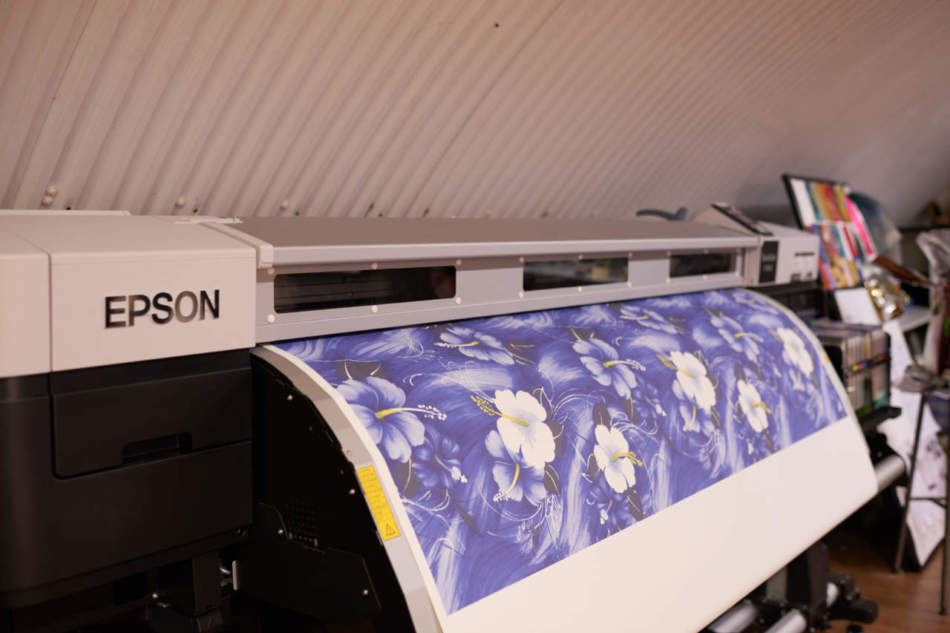 Le stampe Epson alla London Fashion Week
