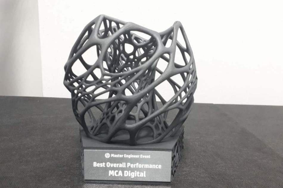 A Mca Digital è andato l'Hp Best Overall Performance Award