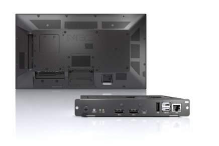 NEC Display Solutions annuncia i nuovi Slot-in PC per le applicazioni signage