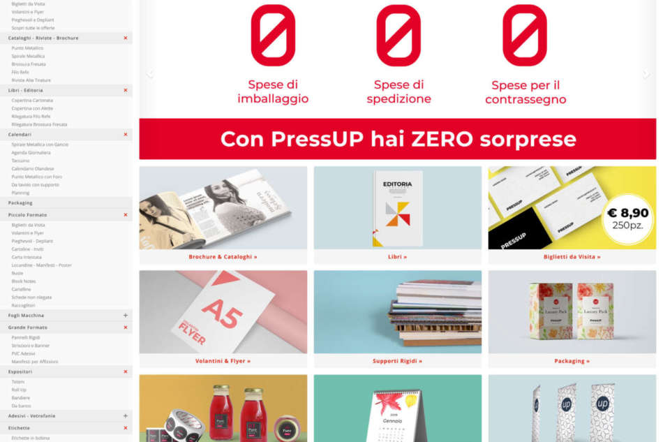 PressUP: per emergere bisogna differenziare