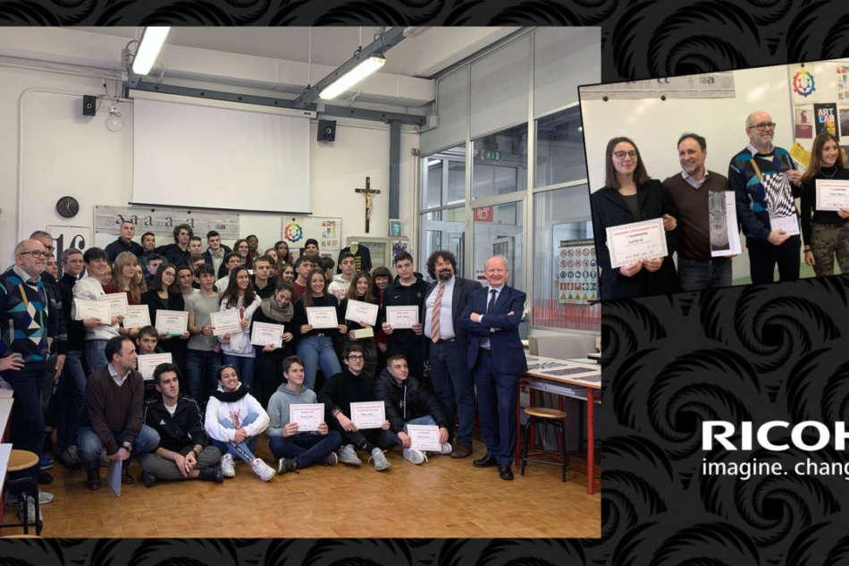 Ricoh Italia premia la creatività degli studenti